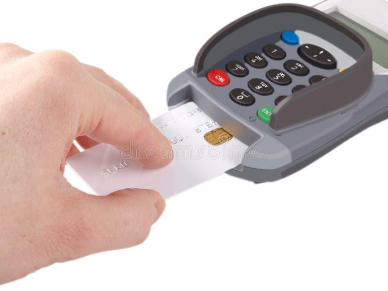 Cartão de microplaqueta imagem de stock