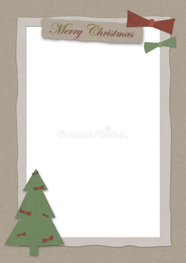 Cartão de Natal 13 ilustração stock
