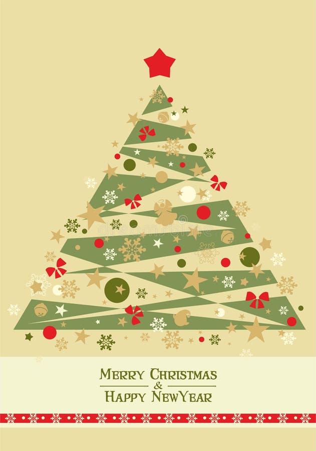 Cartão de Natal 6 ilustração stock