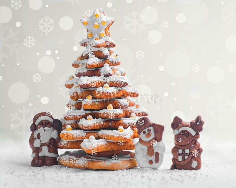 Cartão de Natal do ano novo imagem de stock royalty free