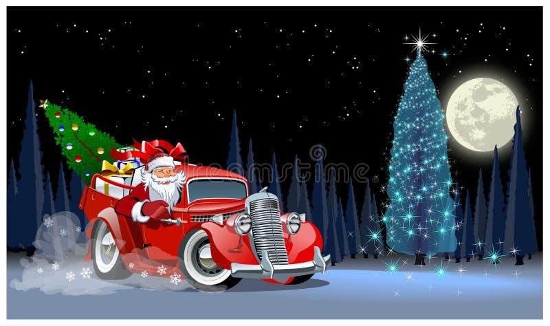 Cartão de Natal do vetor ilustração royalty free