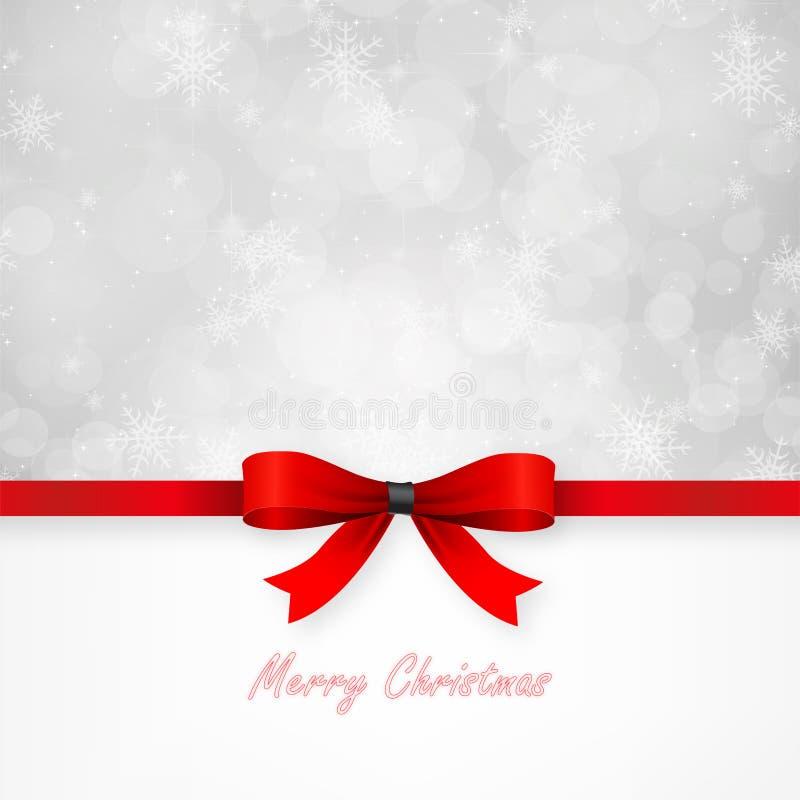 Cartão de Natal mágico. ilustração stock
