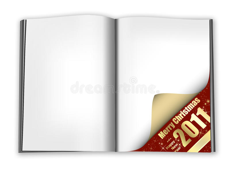 Cartão de Natal para adicionar seu texto ilustração royalty free