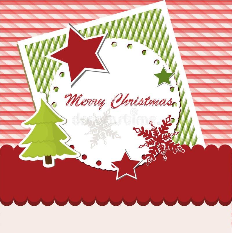 Download Cartão de Natal vermelho ilustração do vetor. Ilustração de mancha - 29841420