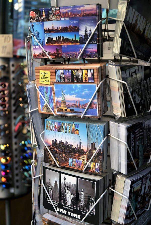Cartão de New York City imagem de stock royalty free
