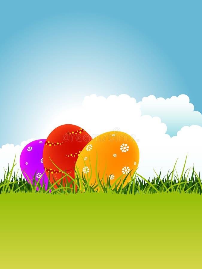 Download Cartão de Easter ilustração stock. Ilustração de celebration - 29840064