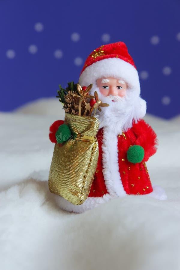 Cartão de Santa do Natal - estoque a foto imagens de stock royalty free