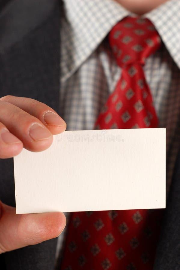 Cartão de visita #5 fotos de stock royalty free