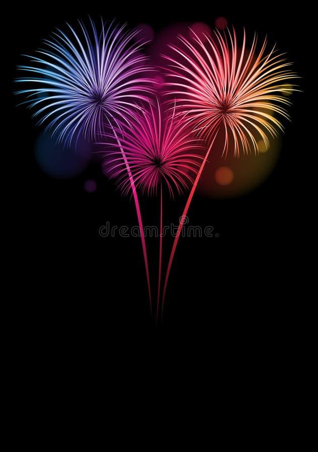 Cartão Do Ano Novo Feliz 2013 Fotos de Stock Royalty Free