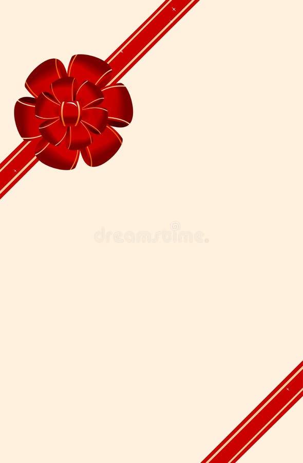Cartão do convite para o feriado ilustração stock