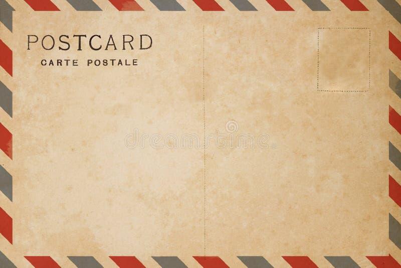Cartão do correio aéreo fotos de stock