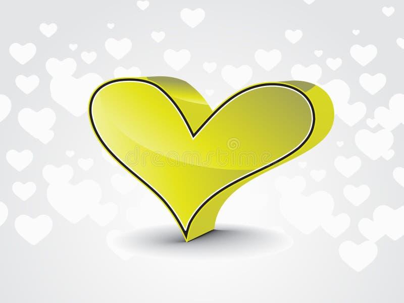 Download Cartão do dia do Valentim ilustração do vetor. Ilustração de cumprimento - 12803645