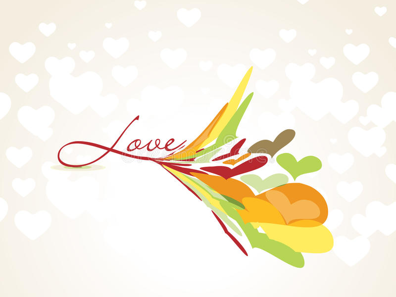 Download Cartão do dia do Valentim ilustração do vetor. Ilustração de decoração - 12803683