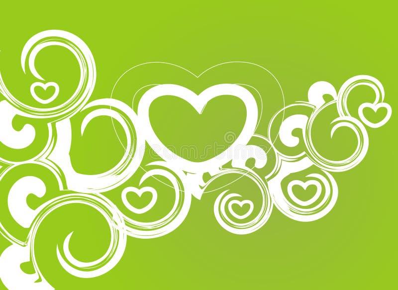 Download Cartão do dia do Valentim ilustração do vetor. Ilustração de monocromático - 12803703