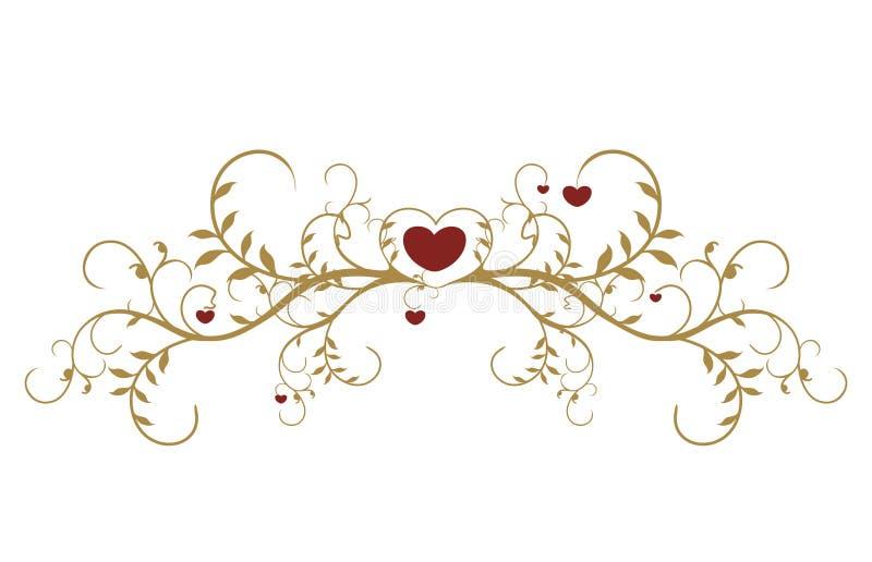 Download Cartão do dia do Valentim ilustração do vetor. Ilustração de coração - 12803765