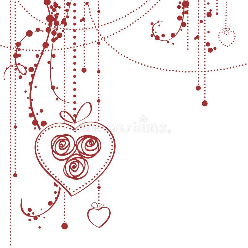 Download Cartão do dia do Valentim ilustração do vetor. Ilustração de projeto - 12810900