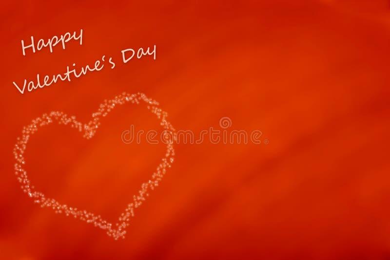 Cartão do dia do Valentim feliz fotos de stock royalty free