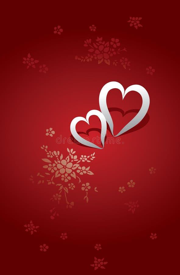 Cartão do dia dos Valentim