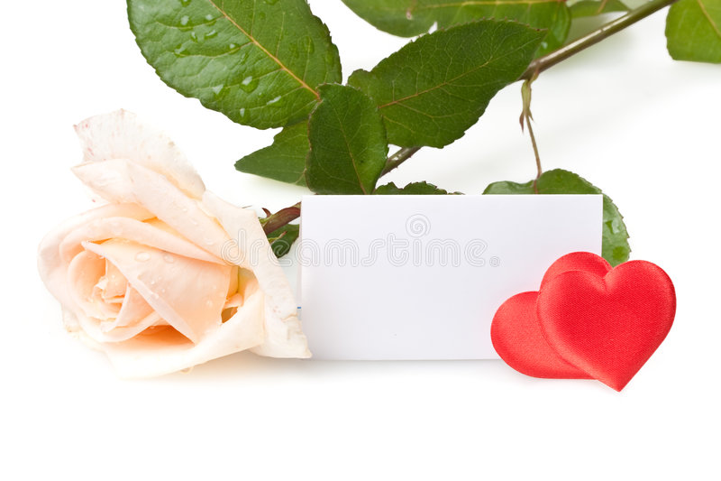 Cartão do dia dos Valentim. imagens de stock