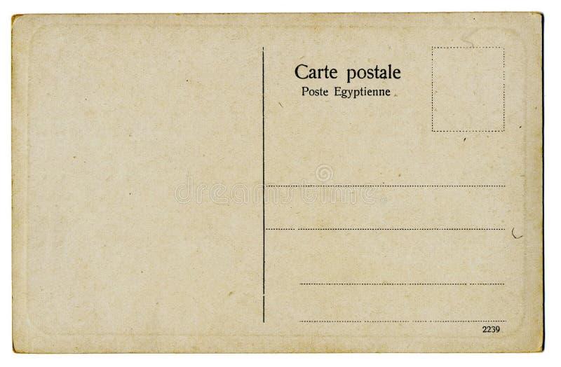Cartão do Egyptian do vintage imagem de stock royalty free