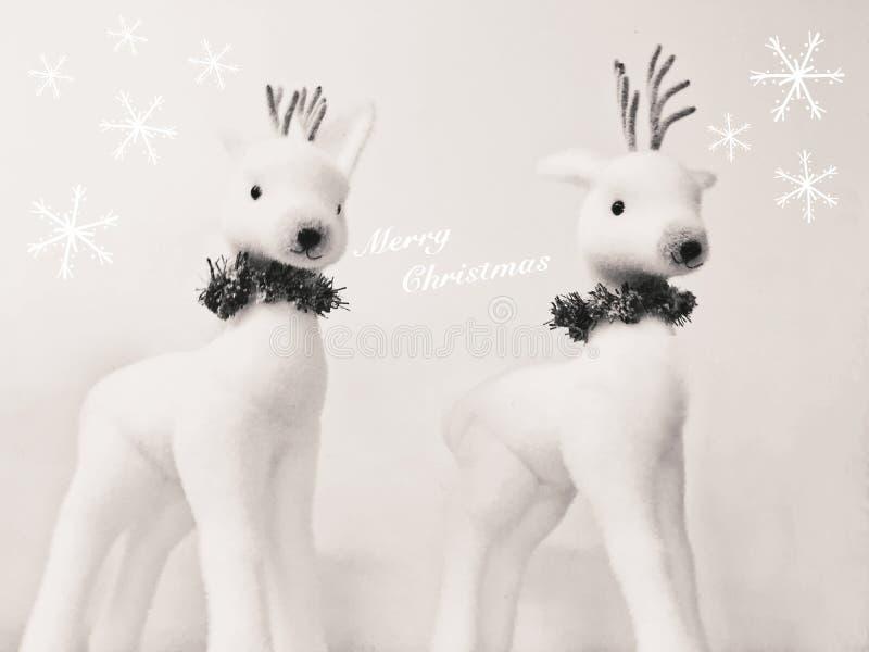 Cartão do Feliz Natal foto de stock royalty free