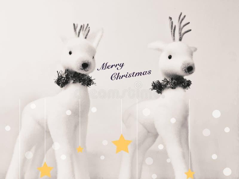 Cartão do Feliz Natal imagens de stock