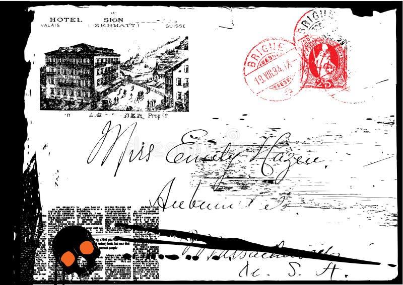 Cartão do fundo ilustração do vetor
