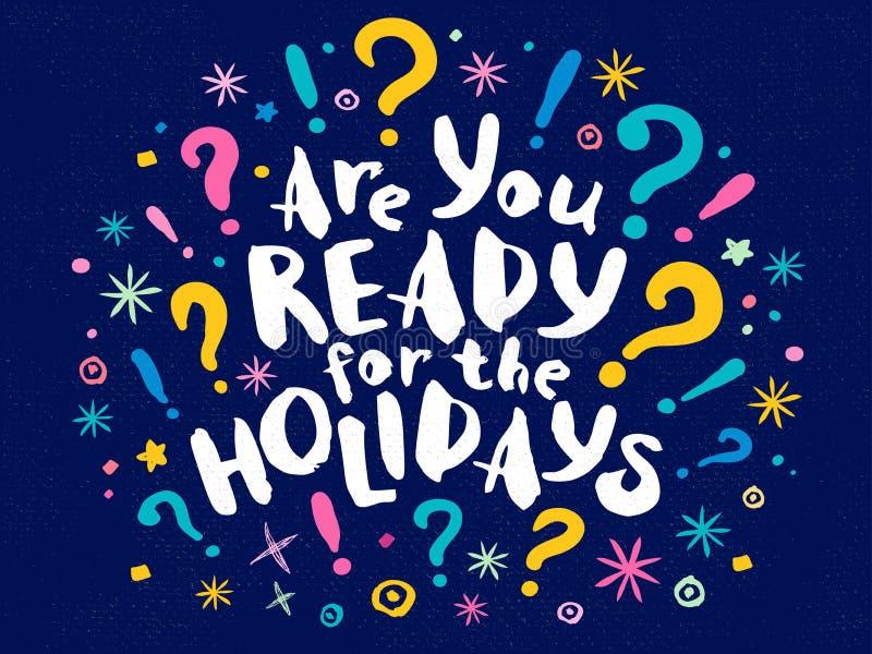 Cartão do Natal do ano 2018 novo feliz ilustração stock