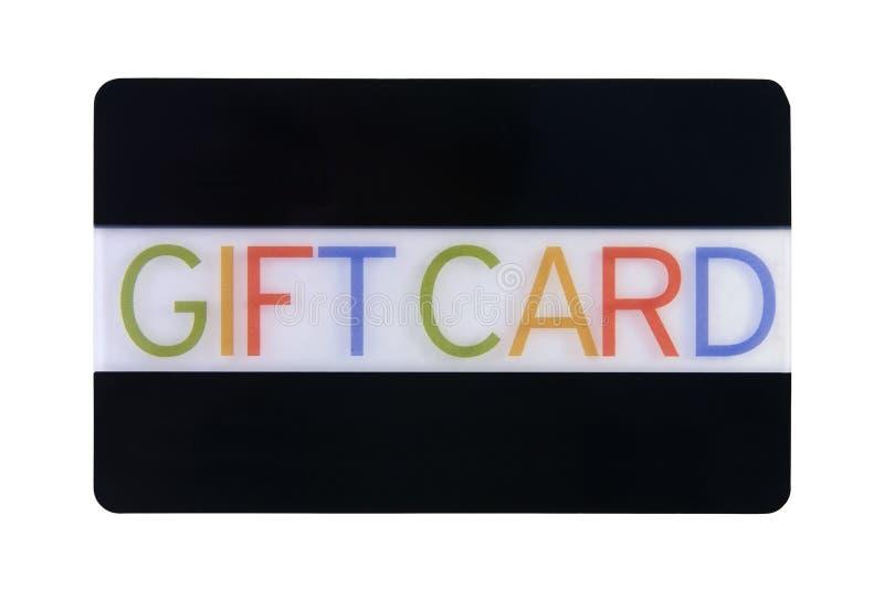 Cartão do presente foto de stock royalty free