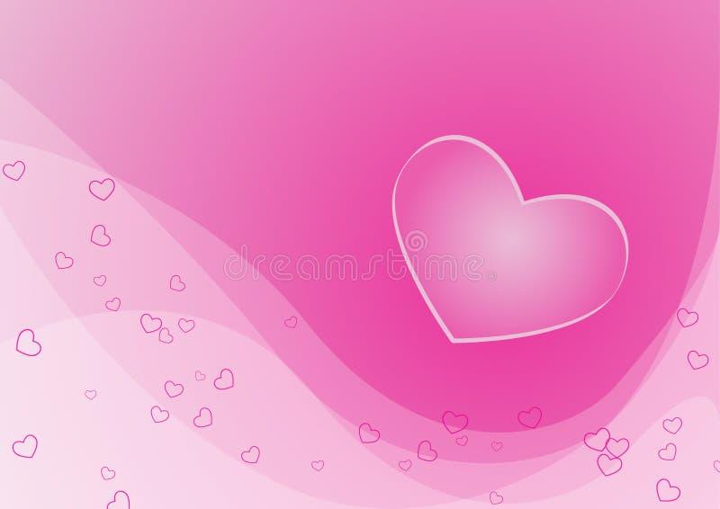 Cartão do Valentim ilustração royalty free