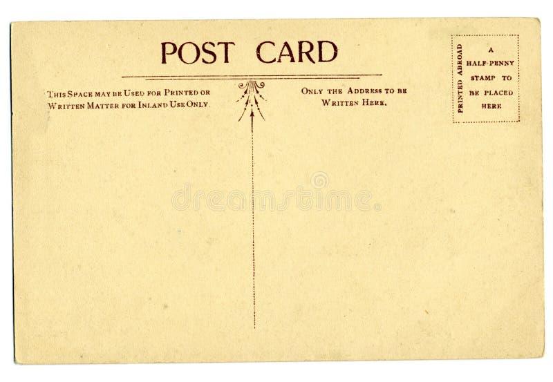 Cartão do vintage foto de stock royalty free