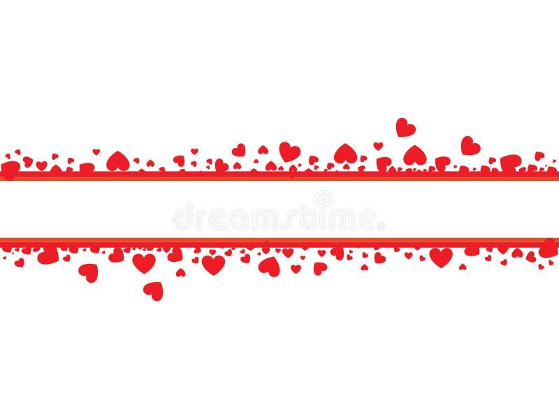 Cartão dos Valentim ilustração do vetor
