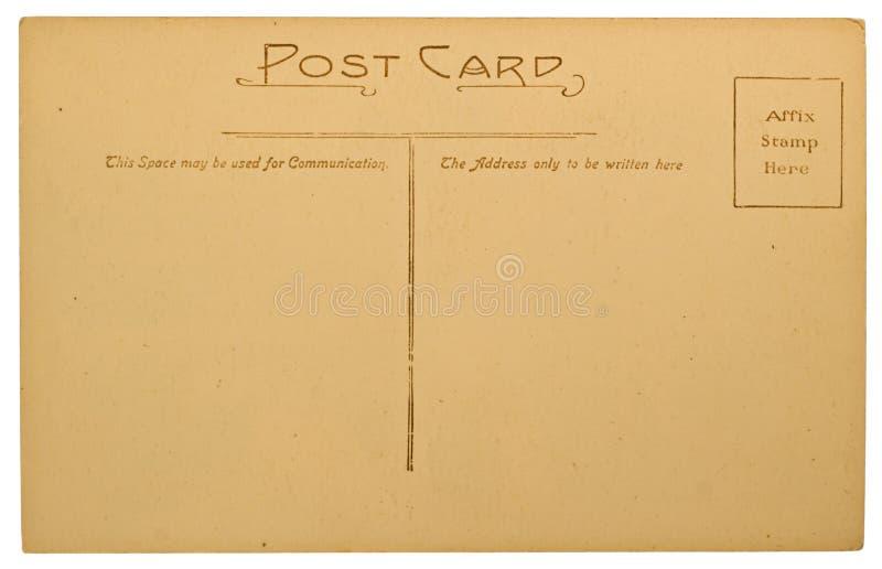 Cartão em branco foto de stock