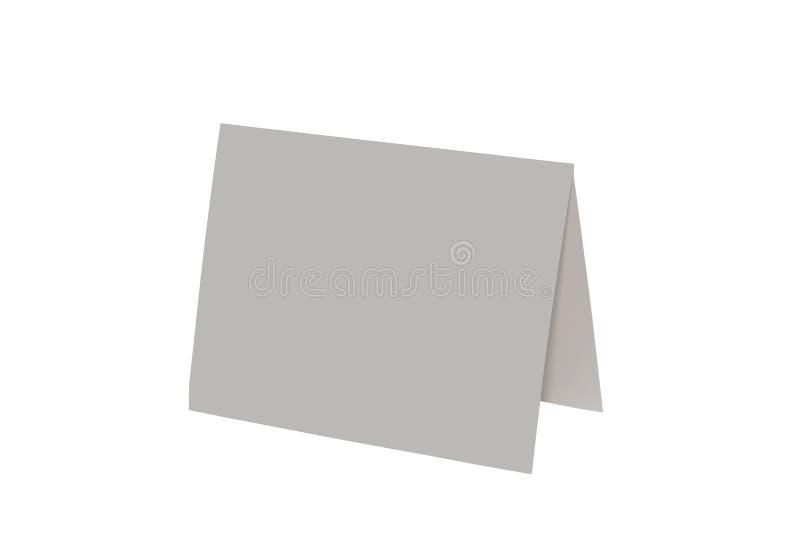 Cartão em branco fotos de stock royalty free