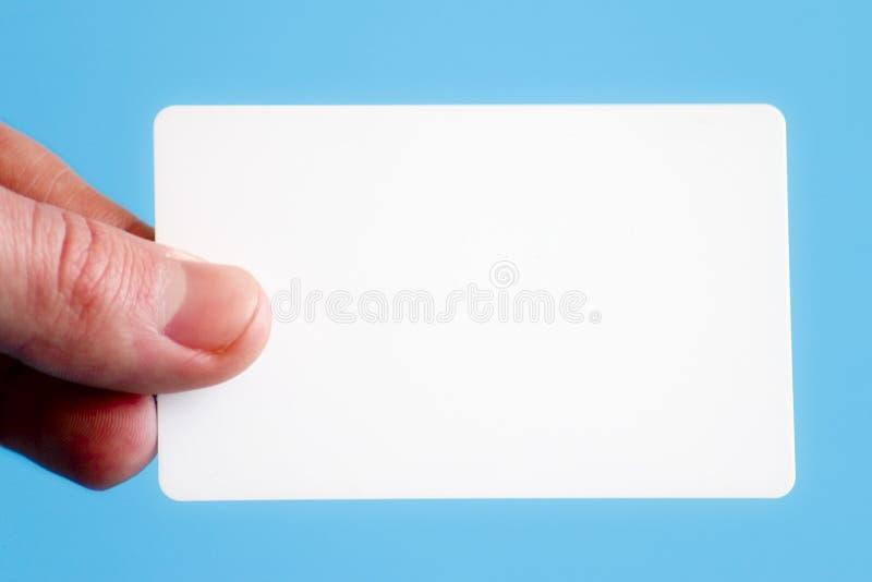 Download Cartão em branco imagem de stock. Imagem de companhia, contatos - 543703