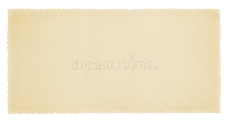 Cartão em branco do vintage imagens de stock