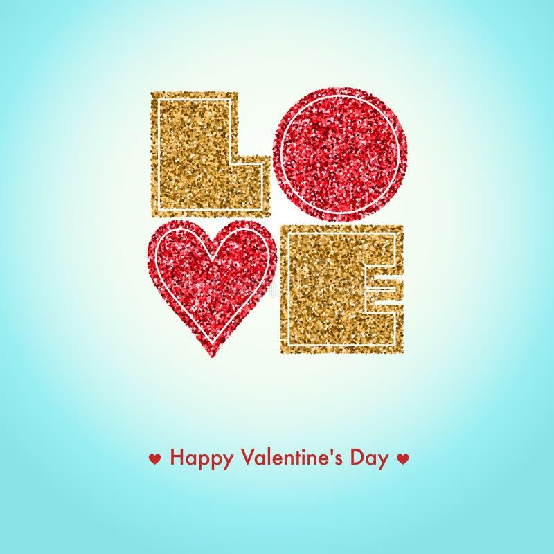 Download Cartão Feliz Do Dia De Valentim, Eu Te Amo, Tipo Da Fonte Ilustração do Vetor - Ilustração de celebration, coração: 65580860