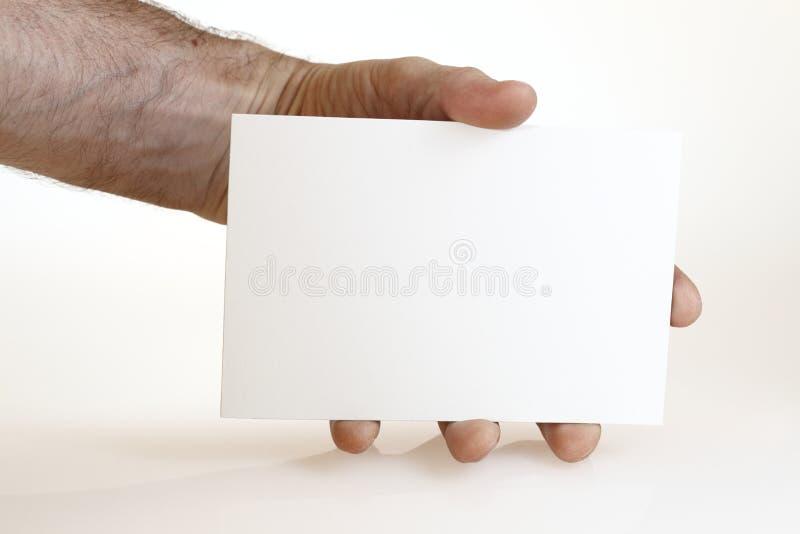 Cartão grande foto de stock
