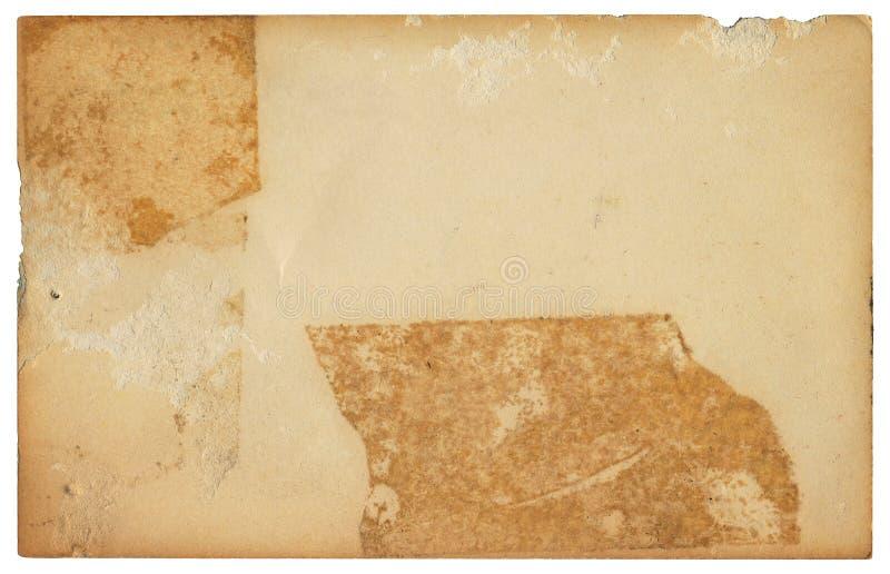 Cartão gravado velho ilustração do vetor