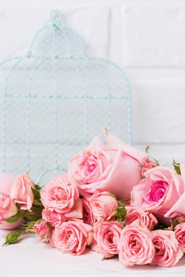 Cartão imóvel floral da vida foto de stock royalty free