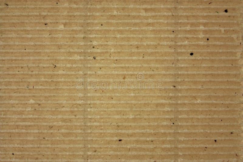 Cartão listrado ondulado Textured fotografia de stock