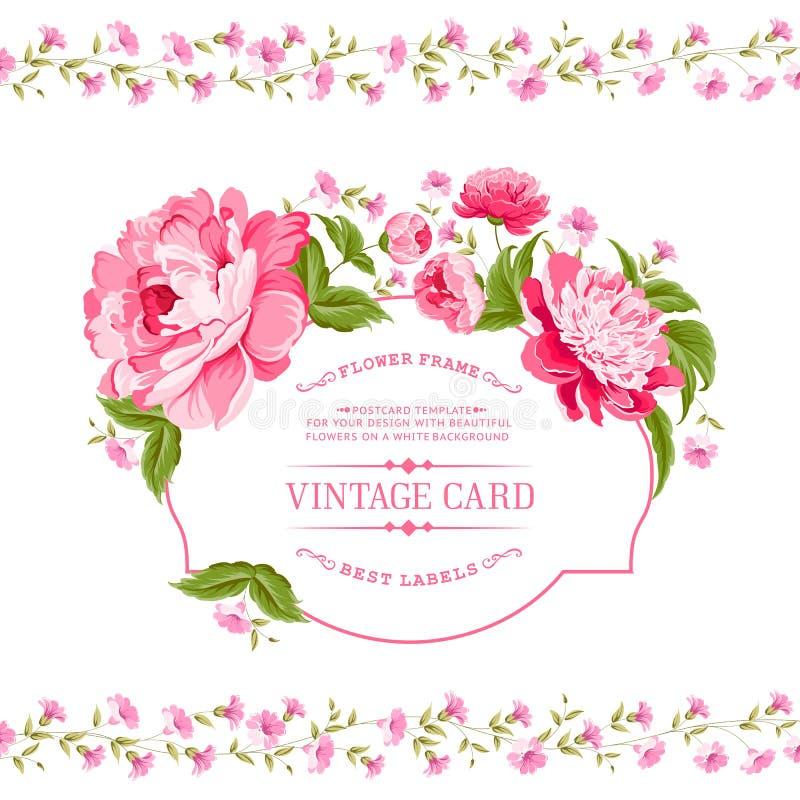 Cartão luxuoso do convite ilustração do vetor