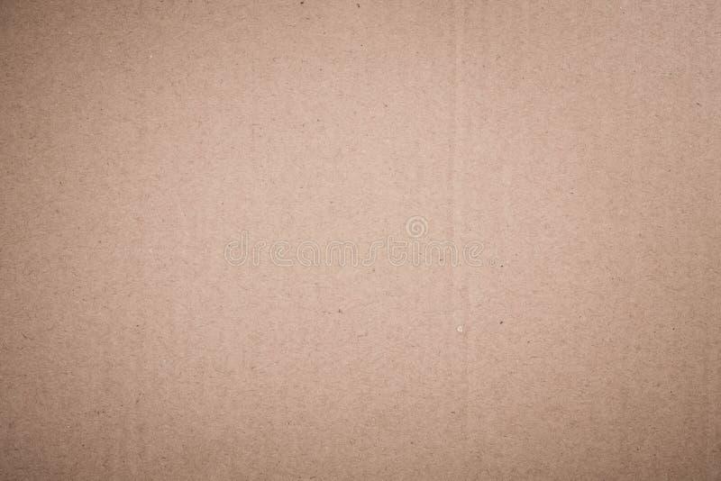 Cartão marrom abstrato fotografia de stock