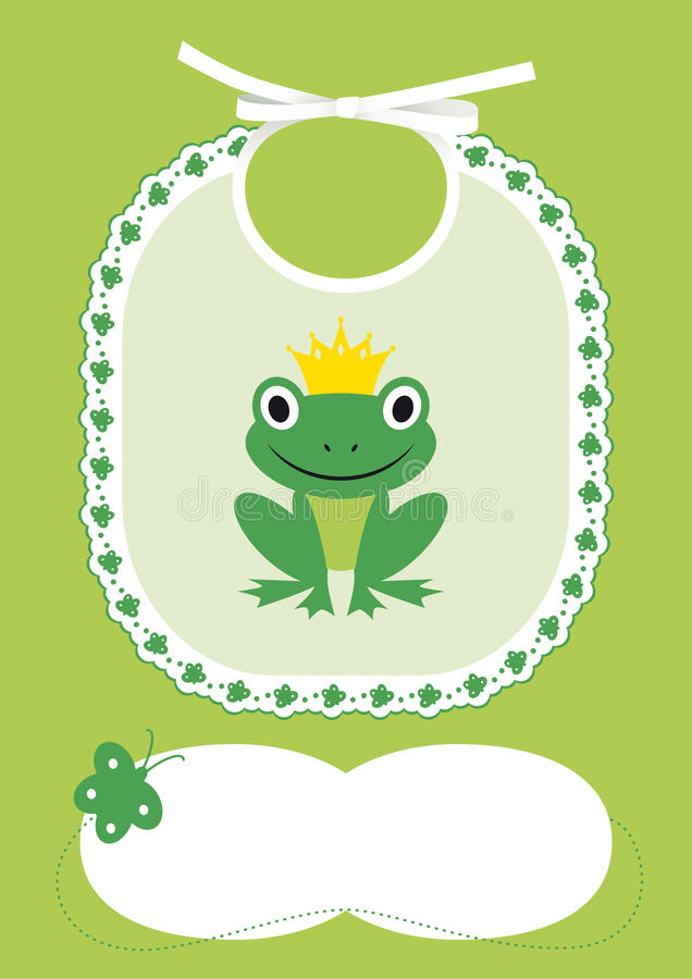 Cartão nascido do anúncio ilustração royalty free