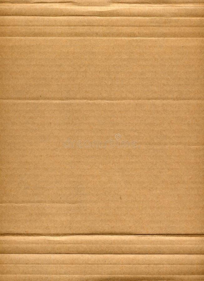 Cartão ondulado foto de stock