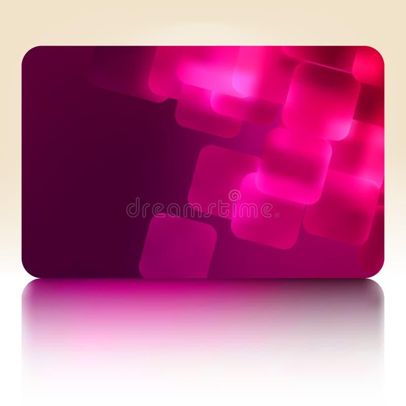 Download Cartão Roxo Do Presente. EPS 8 Ilustração do Vetor - Ilustração de quadrado, glitter: 26519360