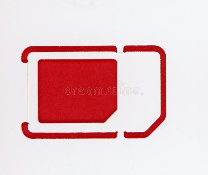 cartão sim trio (micro nano padrão) fotos de stock royalty free