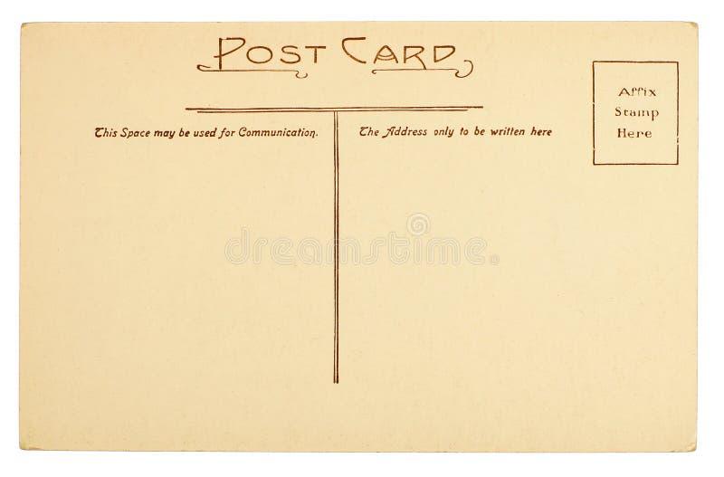 Cartão vazio imagem de stock