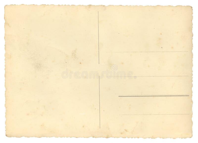 Cartão vazio imagens de stock