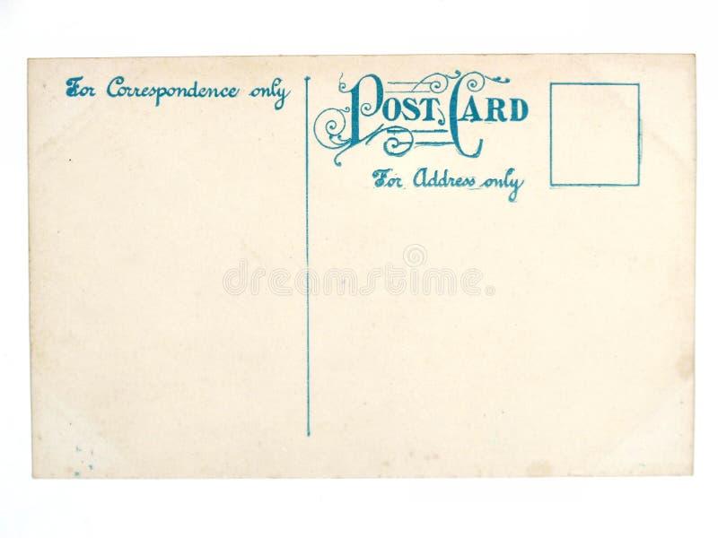 Cartão vazio antigo velho fotos de stock royalty free